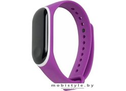 Ремешок Xiaomi для Mi Band 3 (фиолетовый/белый)