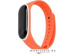 Ремешок Xiaomi для Mi Band 3 (оранжевый/белый)