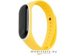 Ремешок Xiaomi для Mi Band 3 (желтый/белый)