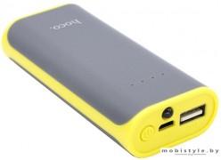 Портативное зарядное устройство Hoco TINY B21-5200 (серый)