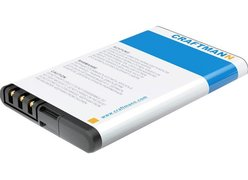 Аккумулятор для телефона Craftmann C1.01.129 (совместим с Nokia BL-4CT)