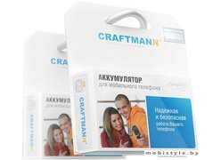 Аккумулятор для телефона Craftmann C1.02.620 (совместим с Meizu BU10)