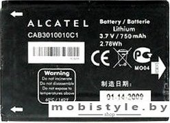 Аккумулятор для телефона Alcatel CAB3010010C1