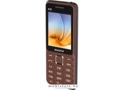 Мобильный телефон Maxvi K12 (коричневый)