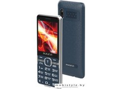 Мобильный телефон Maxvi M5 (маренго)