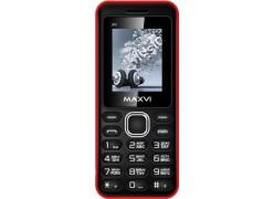Мобильный телефон Maxvi P1 Black/Red