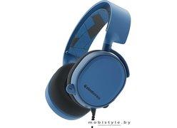 Наушники SteelSeries Arctis 3 (синий)