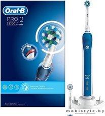 Электрическая зубная щетка Braun Oral-B Pro 2 2700 Cross Action D501.524.2
