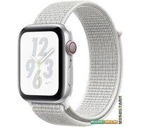 Умные часы Apple Watch Series 4 LTE 40 мм (алюминий серебристый/снежная вершина)
