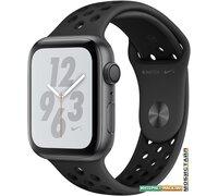 Умные часы Apple Watch Nike+ 44 мм (алюминий серый космос/антрацитовый, черный)