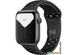 Умные часы Apple Watch Nike Series 5 44 мм (алюминий черный космос/антрацит)