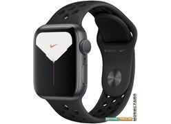 Умные часы Apple Watch Nike Series 5 40 мм (алюминий черный космос/антрацит)