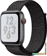 Умные часы Apple Watch Nike+ LTE 44 мм (алюминий серый космос/черный нейлон)