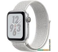 Умные часы Apple Watch Nike+ 40 мм (алюминий серебристый/снежная вершина)