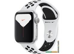 Умные часы Apple Watch Nike Series 5 40 мм (алюминий серебристый/чистая платина)