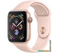 Умные часы Apple Watch Series 4 44 мм (алюминий золотистый/розовый песок)