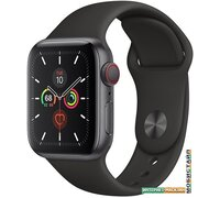 Умные часы Apple Watch Series 5 LTE 40 мм (алюминий серый космос/черный)