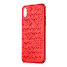 Baseus BV Weaving Case for iPhone X красный