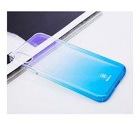 Baseus Glow для Apple iPhone X/XS Gradient голубой