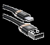 Кабель Baseus Golden Belt для Apple Lightning 2A 1.5M золотой