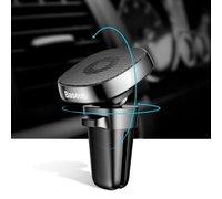 Автомобильный держатель Baseus Privity Series Pro Air Outlet Magnet Bracket серебряный