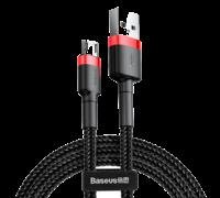 Кабель Baseus cafule Cable USB For Type-C 3A 0.5M черно-красный