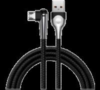Кабель Baseus MVP Mobile game USB-microUSB 1м черный