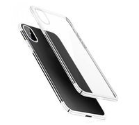 Baseus Glitter Case для iPhone X белый