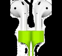 Держатель для наушников Baseus Earphone Strap для AirPods зеленый