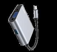 Адаптер Baseus Type-C to VGA + USB 3.0