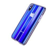 Baseus Aurora Case для iPhone X синий
