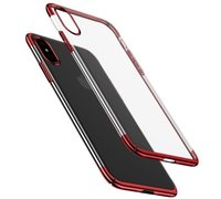 Baseus Glitter для Apple iPhone Xs красный