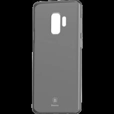 Чехол Baseus Wing Case Transparent for Samsung Galaxy S9 прозрачно-черный