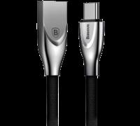 Кабель Baseus Zinc для Apple Lightning 2A 1M черный
