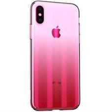 Baseus Aurora Case для iPhone X розовый