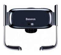 Автомобильный держатель Baseus Mini Electric Car Holder черный