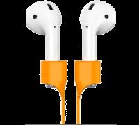 Держатель для наушников Baseus Earphone Strap для AirPods оранжевый