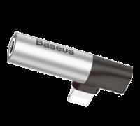 Адаптер Baseus CALL43 S1 3.5 мм серый
