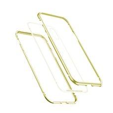 Baseus magnetite hardware Case For iPhone XR золотой