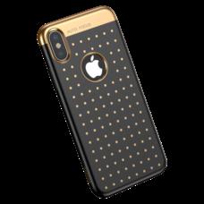 Baseus Star lighting Case For iPhone X черный