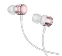 Наушники Baseus Encok Wire Earphone H04 бело-розовый