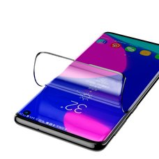 Baseus 0.15mm full-screen curved anti-explosion, soft screen protector For Galaxy S10 Plus