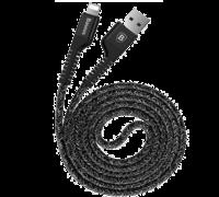 Кабель Baseus Usb Cable to Lightning Confidant Anti-break 1м черный