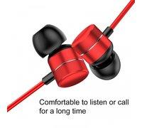 Наушники Baseus Encok Wire Earphone H04 красный