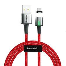 Кабель Baseus Zinc Magnetic USB для Type-C 2A 2m красный