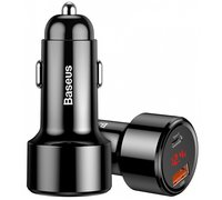 Автомобильное зарядное устройство Baseus Magic Series PPS(Type-c PD+QC) черный