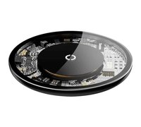Беспроводная зарядка Baseus Simple Wireless Charger черно-золотой
