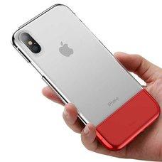 Baseus Half to Half Case For iPhone X/XS красный