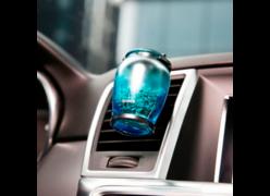 Автомобильный ароматизатор воздуха Baseus AMROU-01 синий
