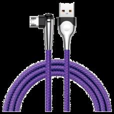 Кабель Baseus MVP Mobile game USB-microUSB 2м фиолетовый